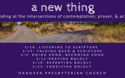 March 18, 2018: Repenting Boldly