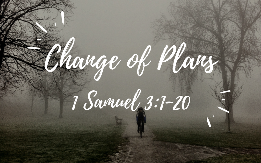 June 3, 2018: Change of Plans