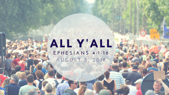 August 5, 2018: All Y'all