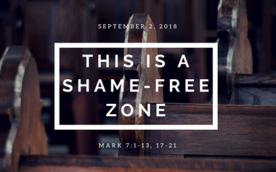 September 2, 2018: This Is A Shame-Free Zone