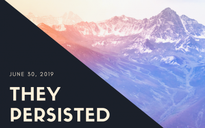 June 30, 3019: They Persisted